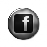 FB BUTTON BW